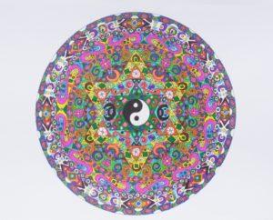 Yin Yang Mandala by Danni