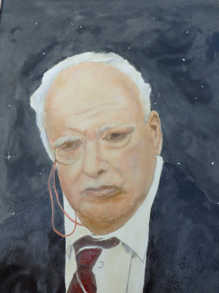 8233 || 679 || Portrait of Sir Patrick Moore || If you intend to put this work up for sale || 463
