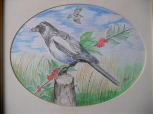 Magpie Sold by gerald pascal