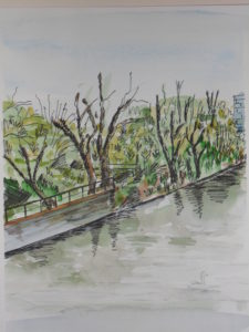 Grand Union Canal by Caroline