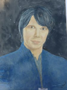 Portrait of Brian Cox by The Scream
