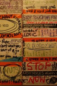 Shut Up#1 – detail. by LWG