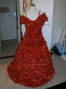 The Red Ribbon Dress by Mandy Webb