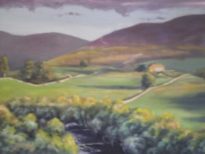 late evening in Swaledale by Kim Birch