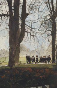 King's Choristers Returning From Chapel by Thomas Morris