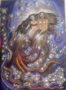 mermaids in love by suzie love