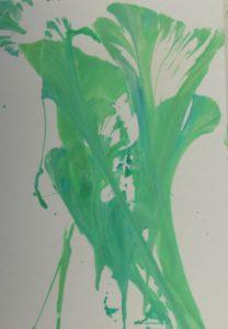 green flower by Nick Farey