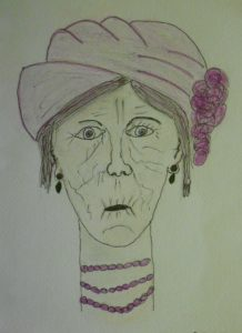 Old Lady by Mary Tonks