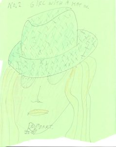 Girl With Hat On by RobART