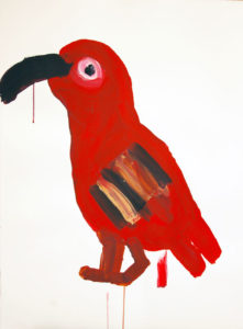 King Parrot by Lesley Nimmo