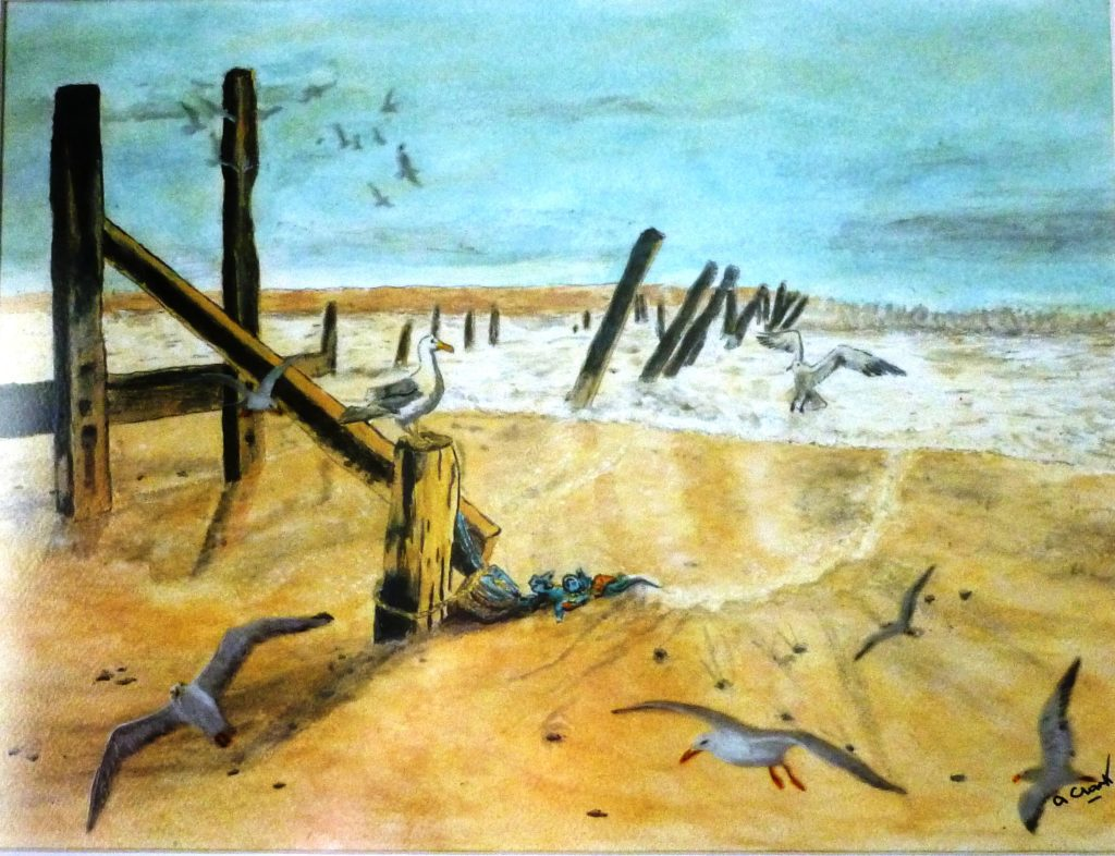 8170 || 679 || Landscapes - Beach Scene || If you intend to put this work up for sale || 463