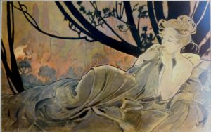 After Mucha by After Japanese Print