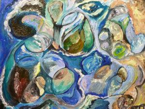 Pebbles 3 by Diane Tate