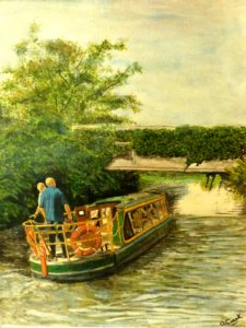 Landscapes – Chichester Canal by Portrait of Charles Dickens