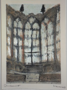 Coventry Cathedral by Caroline