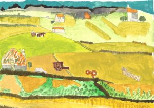 Harvest (After Van Gogh) by Belinda Paddock