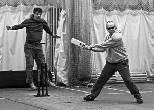 Blind Cricket by Mark Pile