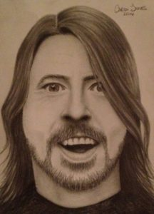 Dave Grohl by Carla Jones