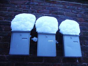 Unseasonal Snow by Amy Barlow