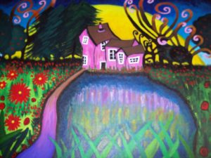 The House in the Woods. by Beth Bowkett