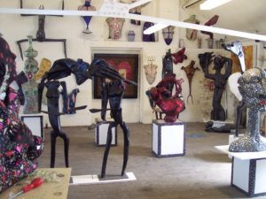 View of my studio # 1 by Mista Fig