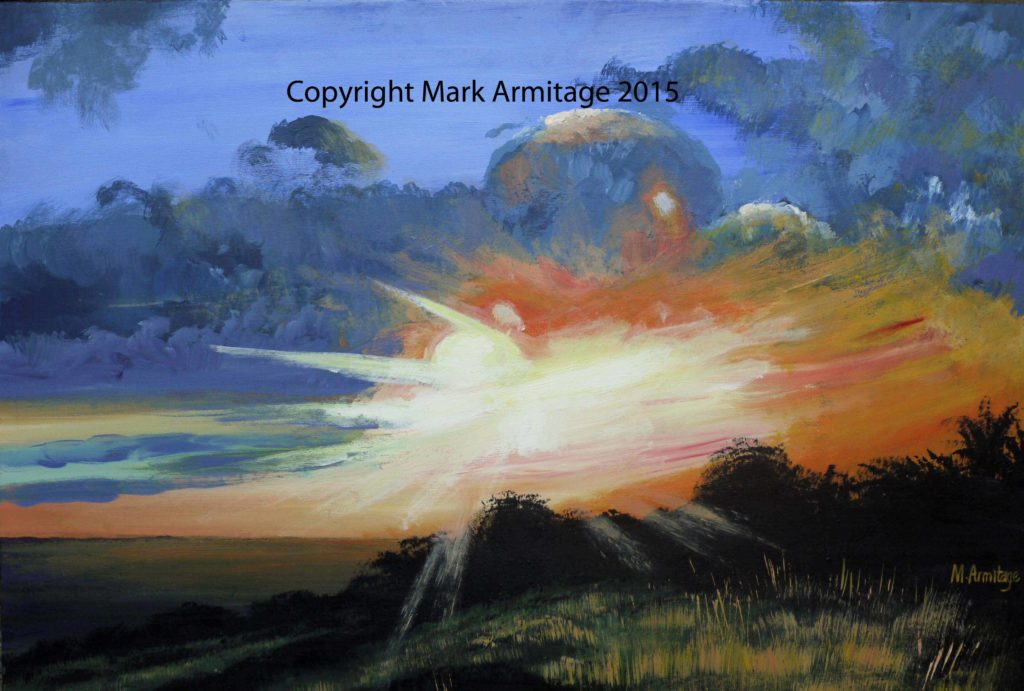 28776 || 4305 || sunset at Bluebell Hill in Kent || If you intend to put this work up for sale || 7066