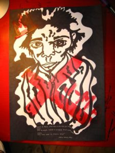 jean-michel basquiat by Laurentiu Z