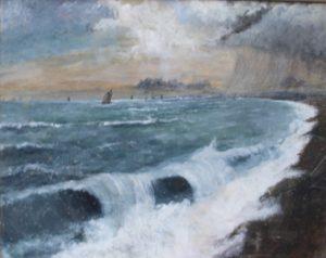 wild sea by mark Noble art