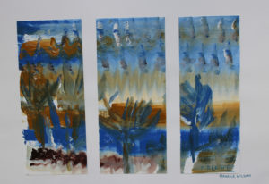 Lanscape Triptych by Maurice Wilson