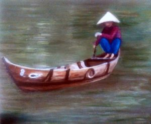 Laos Lagoon by Jacqui Cavalier