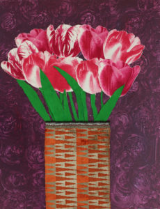 Pink Flowers by Tania Symonds