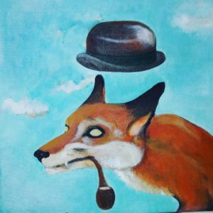 Mr Fox by Voodoo portrait
