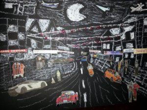 street scene by ASTRO