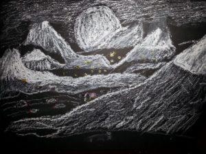 mountain scene by ASTRO