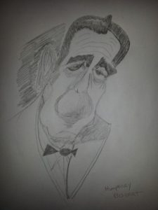 Humphrey Bogart by ASTRO
