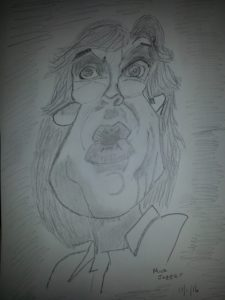 Mick jagger by ASTRO