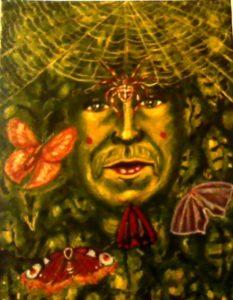 Green Man by james mckenty