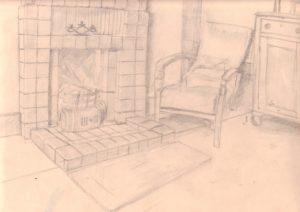 sitting room by blodwyn jones