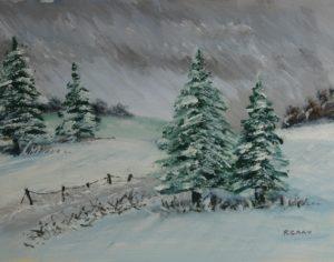 Christmas card by Richard  Grey