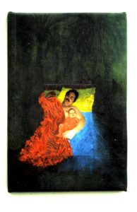 me and my son in bed by Athol Tufnell
