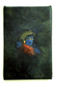 portrait of linda by Athol Tufnell