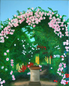 Paradise is a Garden by Jacqui Cavalier