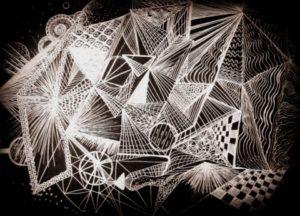silver rays by Ann Hardcastle