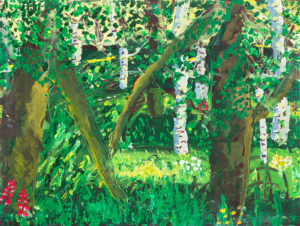 Summer woods by Terri Avril Winchester