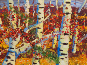 Autumn Trees by Terri Avril Winchester