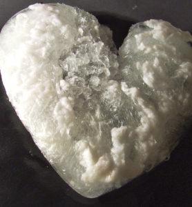 frozen heart by Ann Hardcastle
