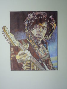 Jimi Hendrix by J.Sharp