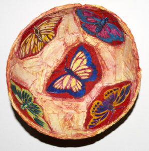 Butterfly Bowl by Cleonie Jennings