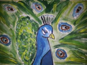 Peacock by Jade's Gallery