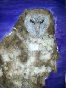 Owl at night by Jade's Gallery